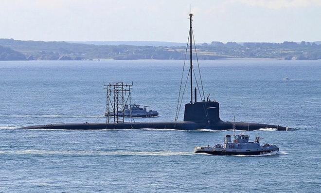 Tàu ngầm hạt nhân Le Temeraire của Pháp