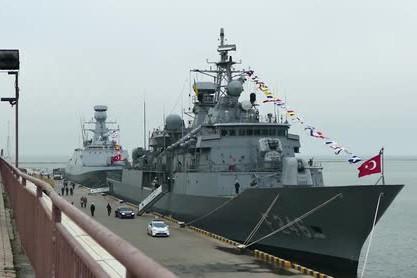 Các tàu quân sự của Hải quân Thổ Nhĩ Kỳ