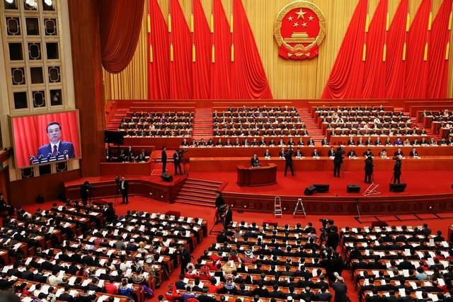 Phiên họp của Quốc hội Trung Quốc tại Bắc Kinh