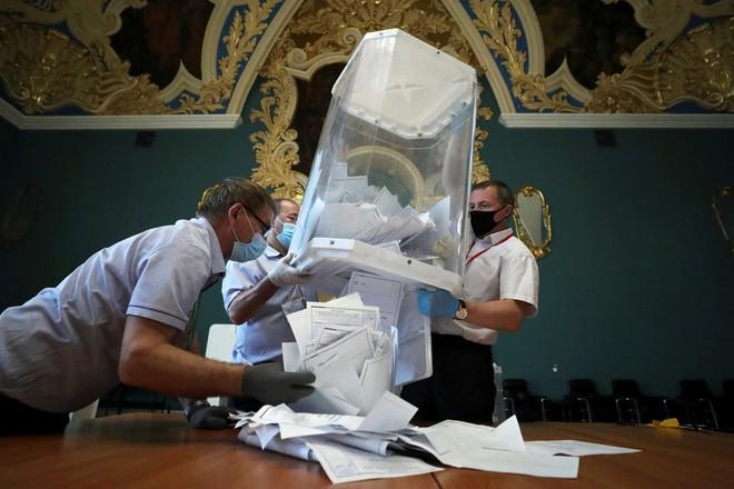 85% phiếu đã được kiểm trong cuộc trưng cầu dân ý về sửa đổi Hiến pháp Liên bang Nga