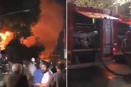 Hiện trường 1 vụ nổ tại Iran