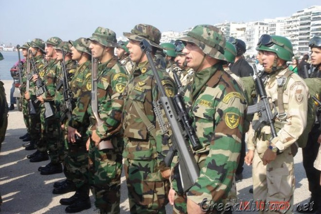 Binh sĩ quân đội Hy Lạp