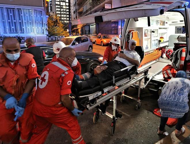 Gần 4.000 người bị thương trong vụ nổ ở Beirut, Lebanon