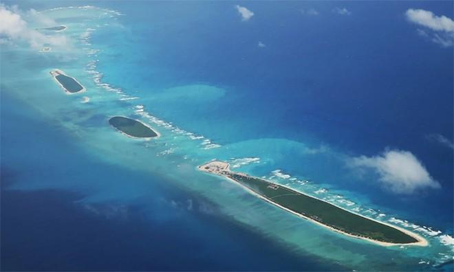 Các thực thể trong nhóm đảo Bắc thuộc quần đảo Hoàng Sa của Việt Nam