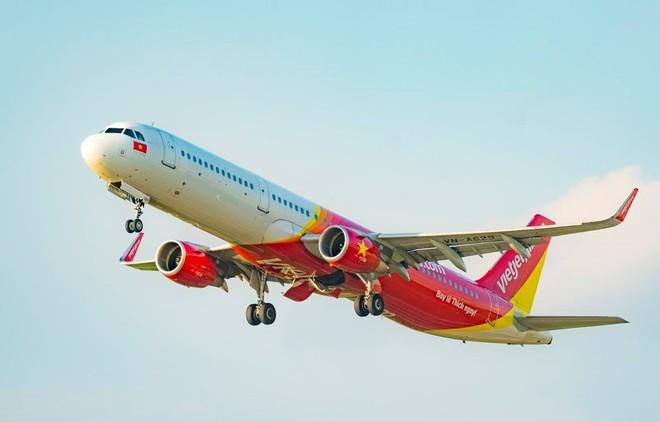 Hãng hàng không Vietjet sẽ thực hiện 4 chuyến bay đưa du khách mắc kẹt rời khỏi Đà Nẵng về Hà Nội và thành phố Hồ Chí Minh. Ảnh: Vietnam+