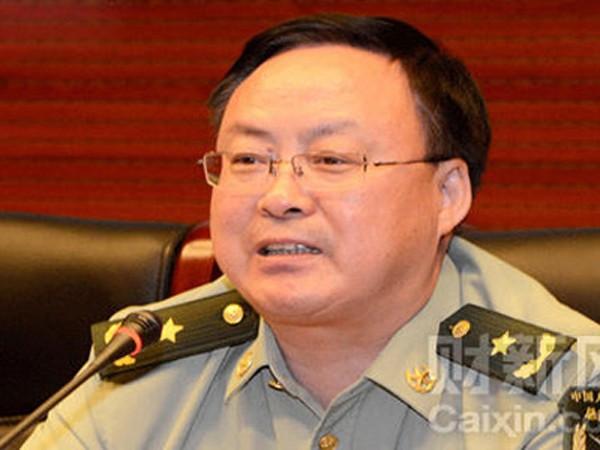 Thêm một tướng quân đội Trung Quốc bị điều tra ảnh 1
