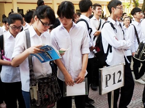 235 trường ĐH, CĐ xét tuyển từ kết quả thi THPT quốc gia ảnh 1