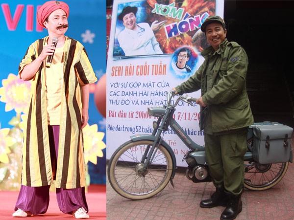 Nghệ sĩ Hồng Kỳ trên sân khấu và ngoài đời