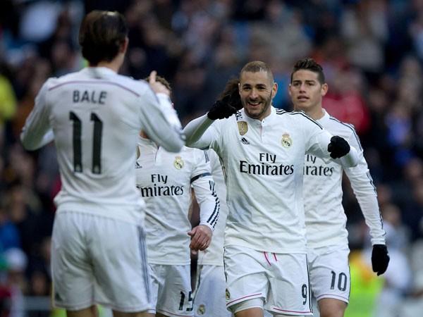 Khó ngăn Real Madrid về đích ảnh 1