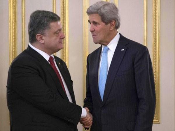 Ngoại trưởng Mỹ thăm Ukraine ảnh 1