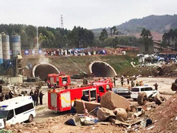 Trung Quốc: Nổ khí gas trong hầm đường bộ, 3 người chết ảnh 1