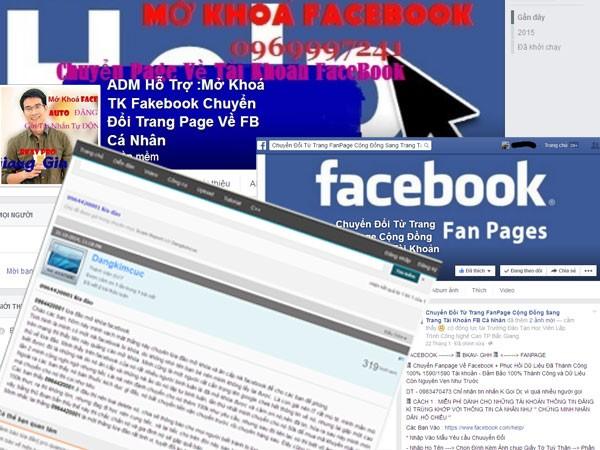 Cảnh giác với thủ đoạn lừa đảo mới trên Facebook ảnh 1