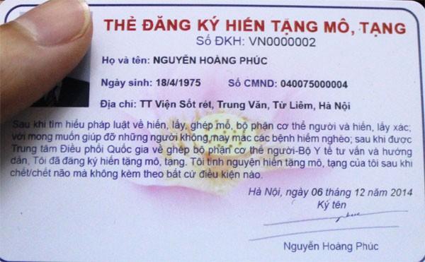 """Hiến mô, tạng ở Việt Nam: Mong mỏi những người """"truyền sự sống"""" ảnh 1"""