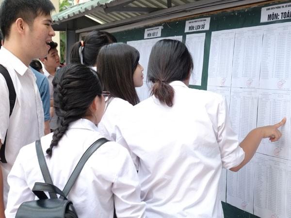 Chốt thông tin quan trọng nhất kỳ thi THPT quốc gia ảnh 1