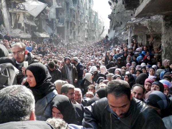 Phiến quân IS chỉ còn cách Dinh Tổng thống Syria 5km ảnh 1