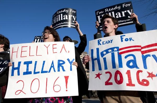 Hillary Clinton và cơ hội làm thay đổi lịch sử nước Mỹ ảnh 2