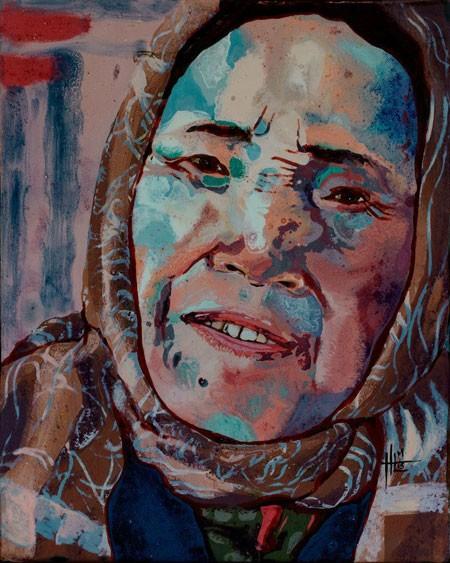 Một người Mỹ đưa phụ nữ Việt lên tranh sơn mài ảnh 2
