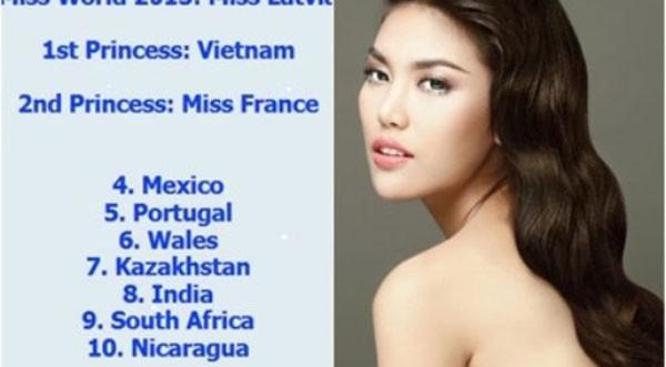 Lan Khuê - Nhan sắc Việt có thể trở thành Á hậu Thế giới 2015 ảnh 1