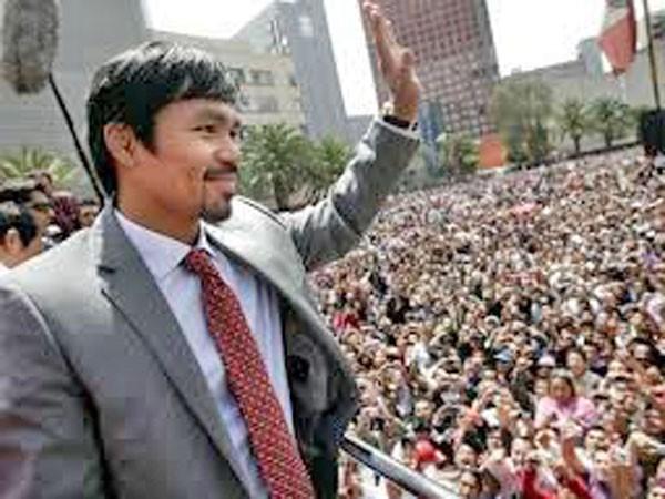 Võ sỹ huyền thoại Manny Pacquiao bước sang vũ đài chính trị ảnh 1