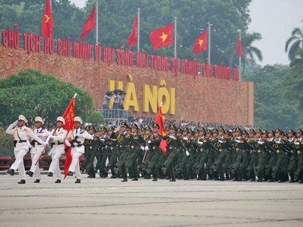 Chủ tịch Hồ Chí Minh với Công an nhân dân ảnh 2