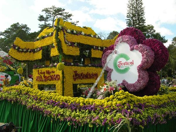 Festival hoa Đà Lạt năm 2015 ảnh 1
