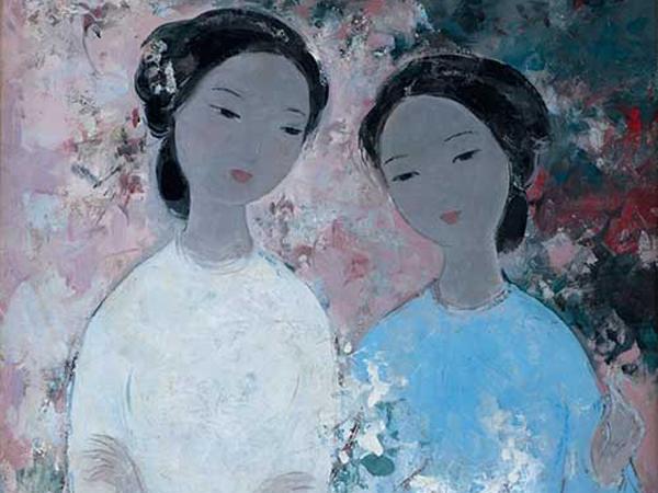 Sưu tập tranh của họa sỹ trường mỹ thuật Đông Dương ảnh 1