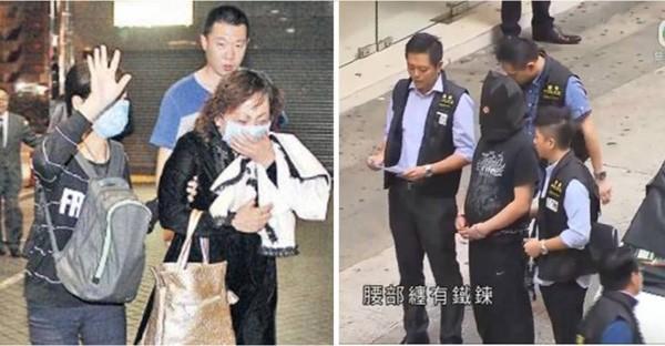 Gia đình nạn nhân Miêu và một nghi phạm tại hiện trường vụ án