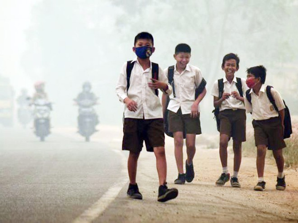 Chung tay đối phó thảm họa khói mù ảnh 1