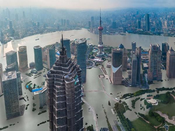 Nước biển dâng, nhiều siêu đô thị châu Á sẽ ngập nặng ảnh 1