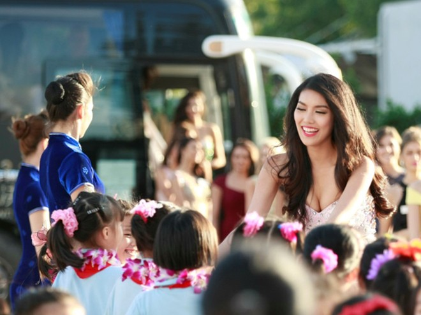 """Cuộc thi """"Hoa hậu Thế giới 2015"""": Lan Khuê gây ấn tượng đặc biệt ảnh 1"""