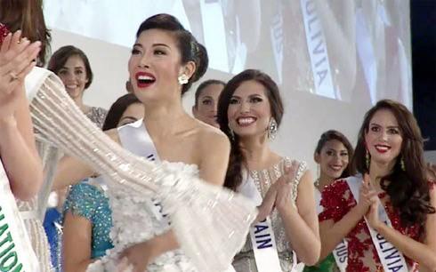 """Á hậu 3 cuộc thi """"Hoa hậu Quốc tế 2015"""" - Thúy Vân: Tôi sẽ không phản bội mình ảnh 2"""
