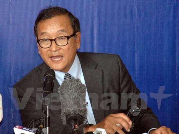 Tòa án triệu tập ông Sam Rainsy vì xúc phạm Chủ tịch Quốc hội ảnh 1