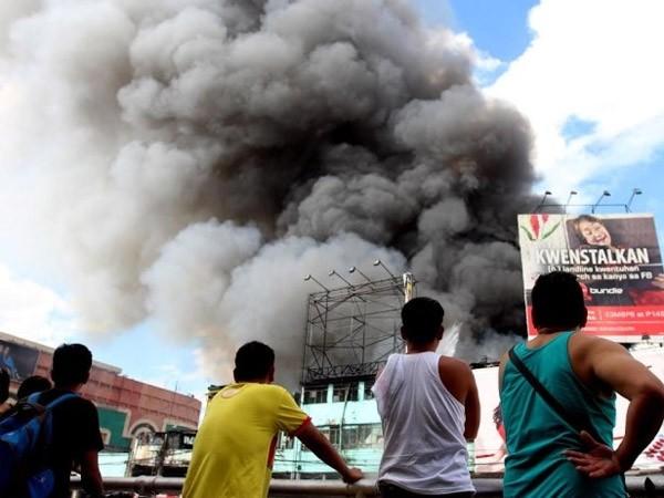Cháy lớn tại Philippines, 5.000 người mất nhà ảnh 1