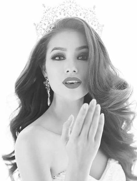 Phạm Hương tự tin chinh phục ngôi vị Hoa hậu ảnh 1