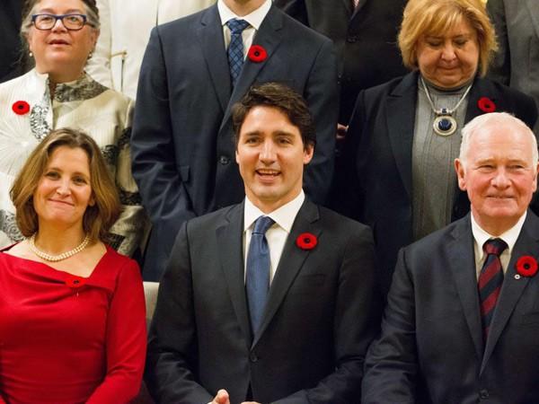 50% nội các Canada là phụ nữ ảnh 1