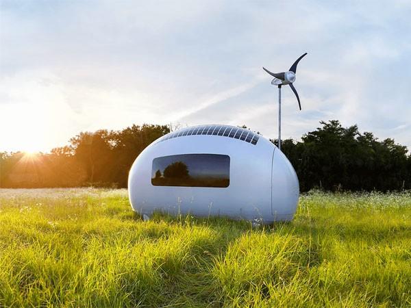 Nhà mini chạy bằng năng lượng tái tạo ảnh 1