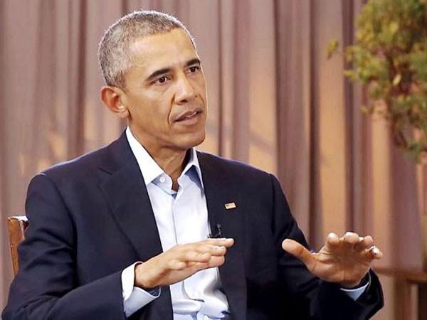 Tổng thống Mỹ Barack Obama trả lời phỏng vấn của kênh Channel NewsAsia