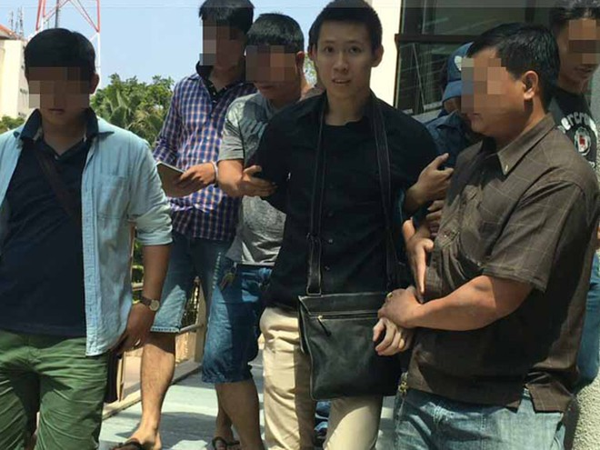 Công an bắt giữ nghi can Nguyễn Hoàng Minh tại khách sạn 5 sao ở quận 1