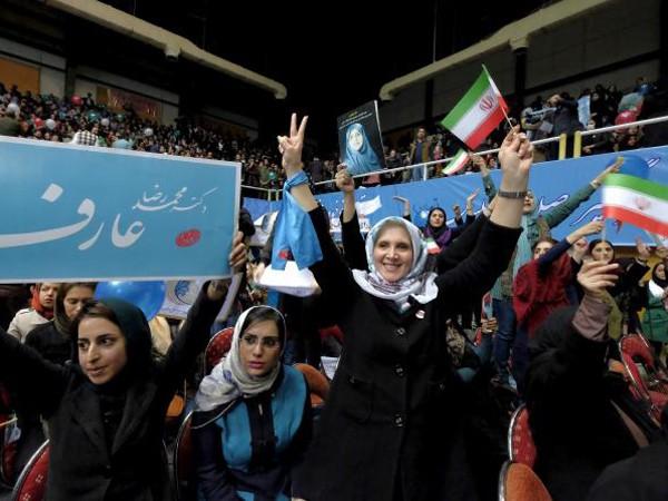 Phe cải cách ở Iran biểu dương lực lượng trong bầu cử