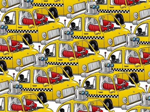 Taxi chở khách tự lái ảnh 1