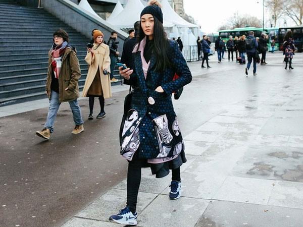 Thùy Trang xuất hiện trên Tạp chí Vogue ảnh 1