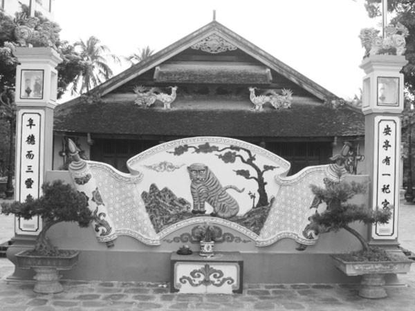 Yên Phụ - ngôi đình thờ dọc độc nhất vô nhị ở nước ta ảnh 3