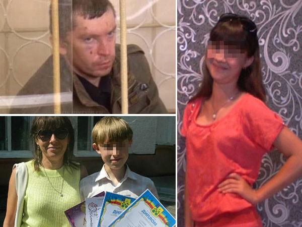 Kẻ giết người Makarov và các nạn nhân Olga Gavrilova, Ilya, Dasha Derevenchik