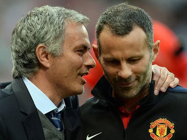 Không phải Mourinho, Giggs (phải) mới là ứng cử viên số 1 thay thế Van Gaal