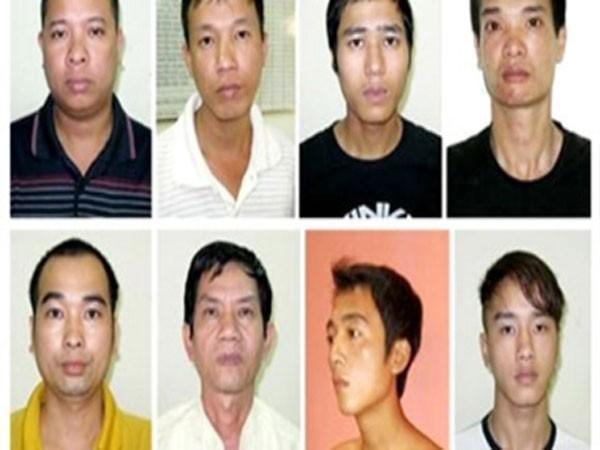 """Các đối tượng trong vụ """"bắt cóc"""" anh Lưu Văn Vương, con trai Thiều Thị Bản"""
