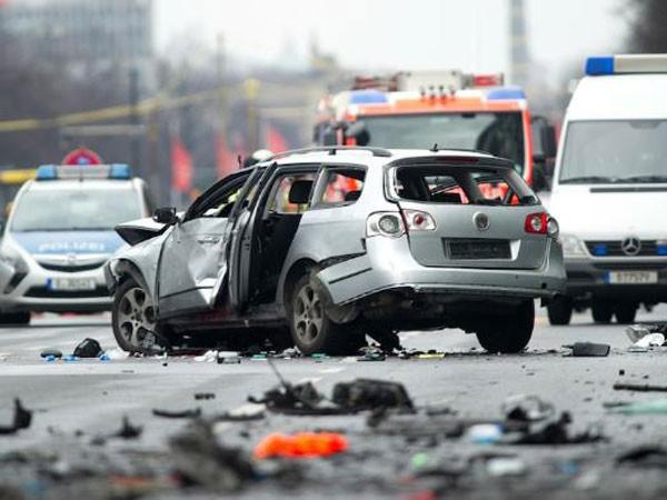 Hình ảnh hiện trường vụ nổ