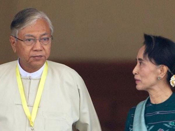 Ông Htin Kyaw là cố vấn thân cận của bà Aung San Suu Kyi