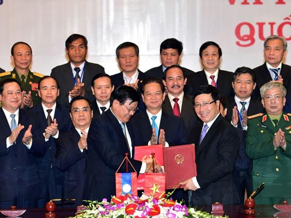 Việt Nam - Lào: Hoàn thành hệ thống mốc quốc giới chính quy, hiện đại, bền vững ảnh 1