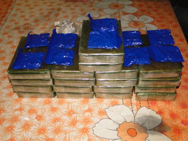 Số ma túy được các lực lượng chức năng thu giữ
