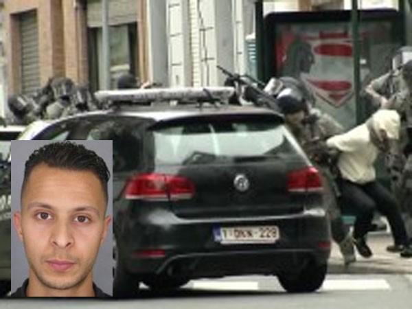 Cảnh sát bắt giữ Salah Abdeslam